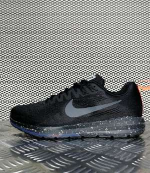 кроссовки мужские Nike Air Zoom Structure 21 Shield Black / Black - Obsidian / Black Кроссовки для зала купить недорого